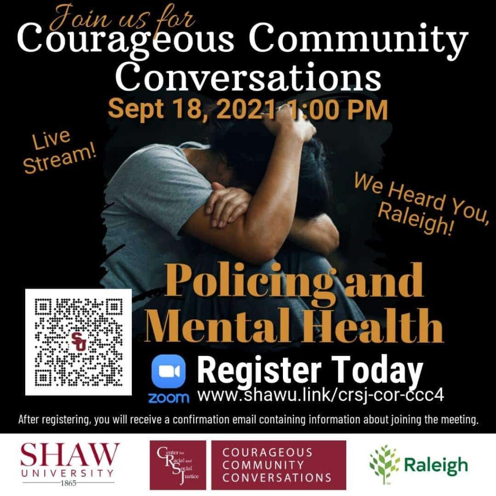 Courageous Community Conversations - Session #4