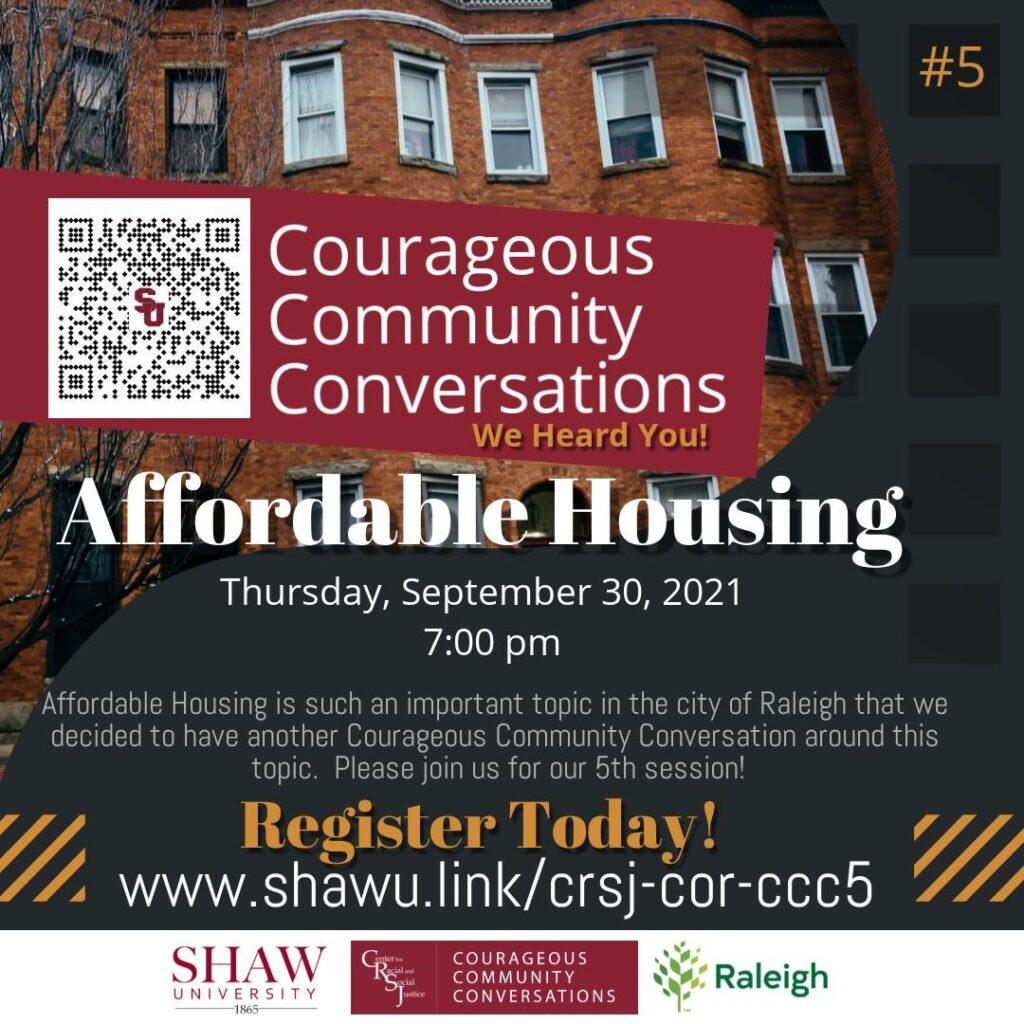 Courageous Community Conversations - Public Housing #5